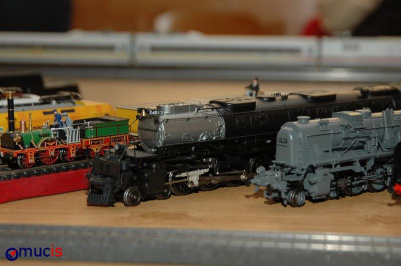 unterschiedlichste Dampfloks