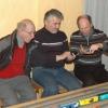 3 Männer und die Modellbahn