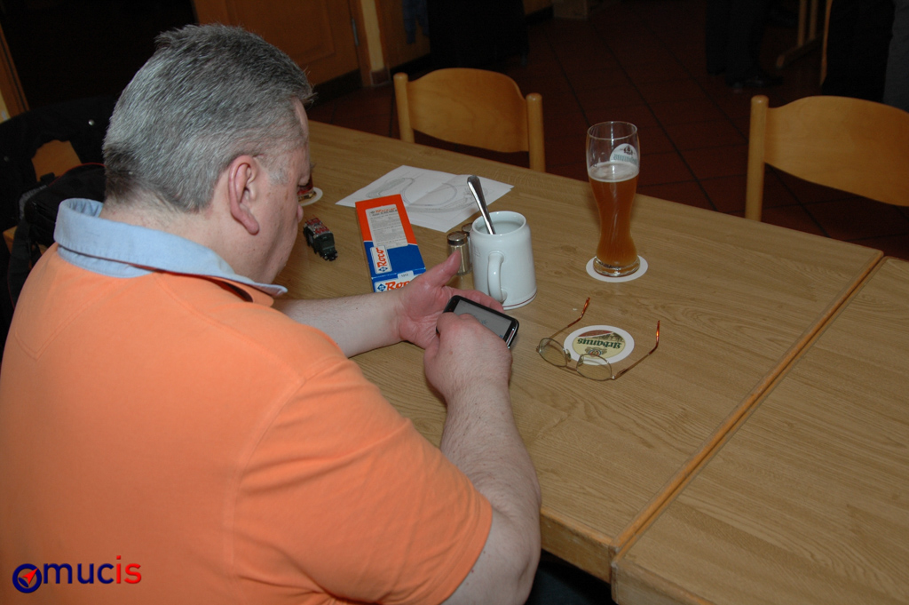 Obelix kann Smartphone