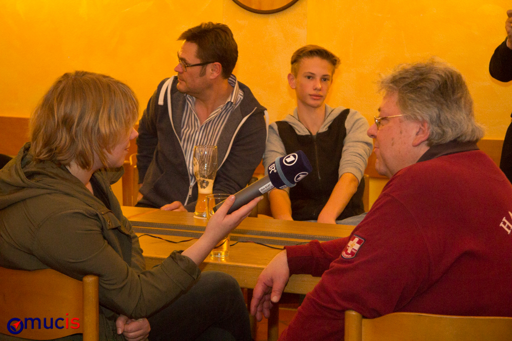 Obelix gibt Interview