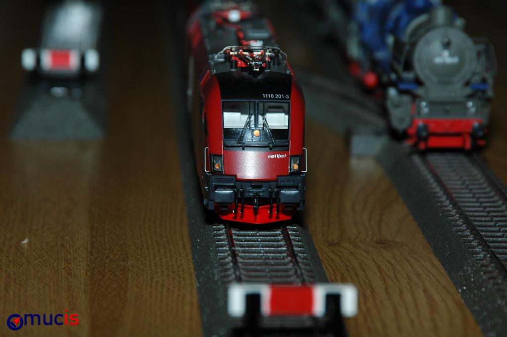 Ankunft RailJet auf Gleis 5