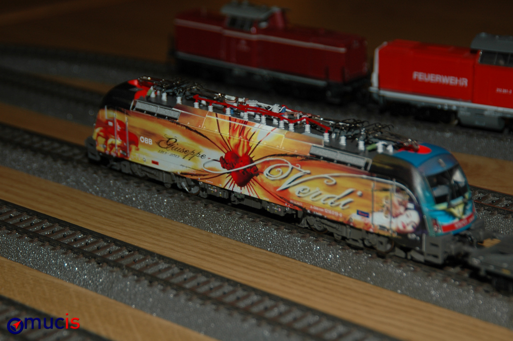 Verdi fährt Bahn
